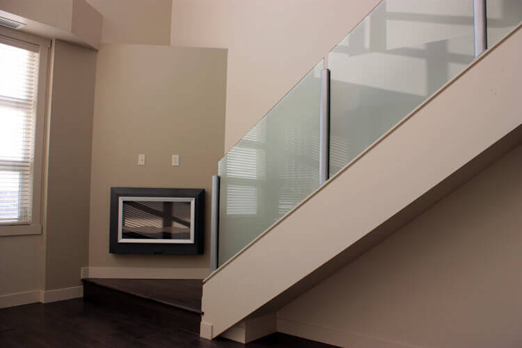 Glass Shower Doors - Toronto. Custom Frameless & Sliding Door Interior Railing 08