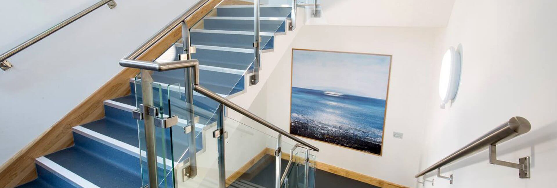 Glass Railings Stairs Slide1