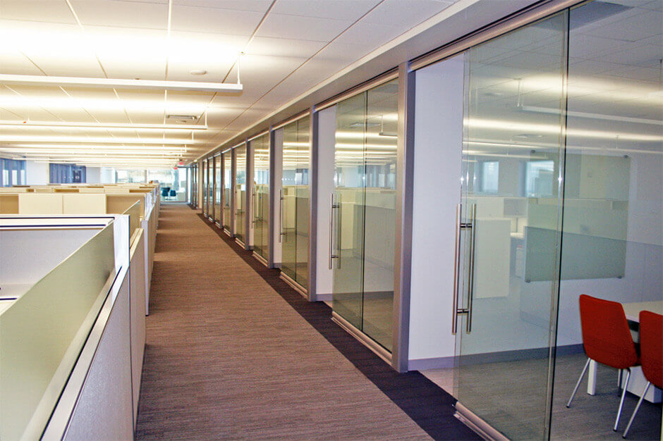 View Glass Office Walls Central Office Naic