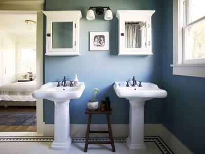 Master Bath Of Craftsman Style House 523268660 5887edff5f9b58bdb3bd743d